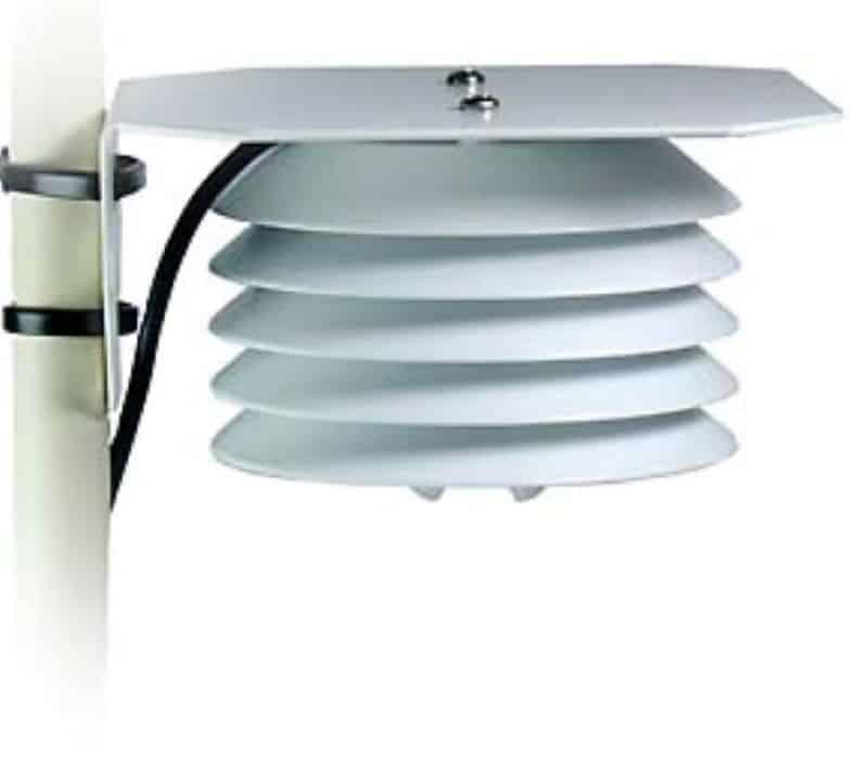 protector radiacion sensor temperatura aire PASSECT