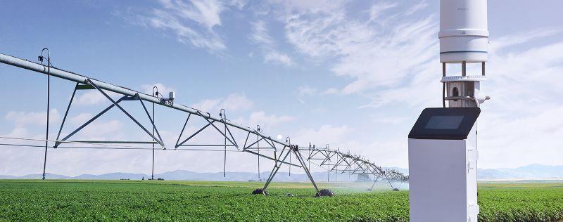 estacion meteorologica agroclimatica para la gestion de riego fincas