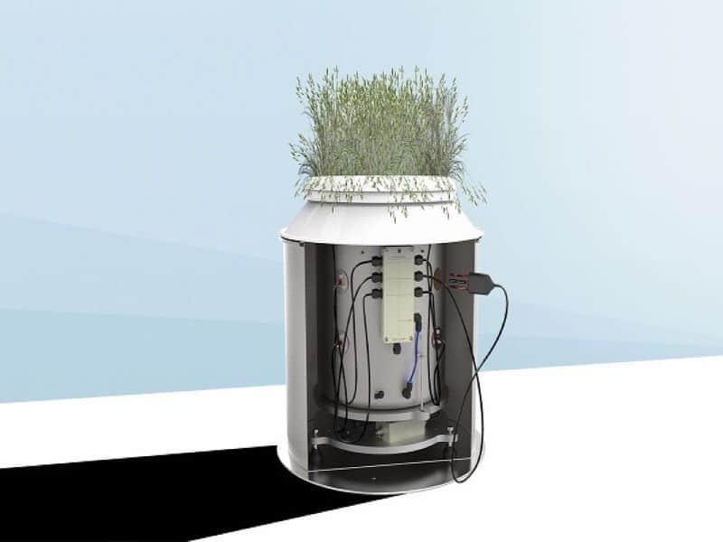 lisímetro de pesada calculo preciso balance hidrico suelo smart