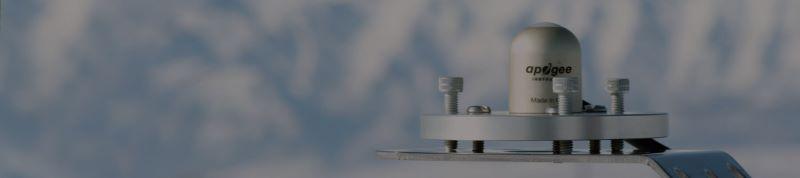 sensor radiación solar piranometro termopila