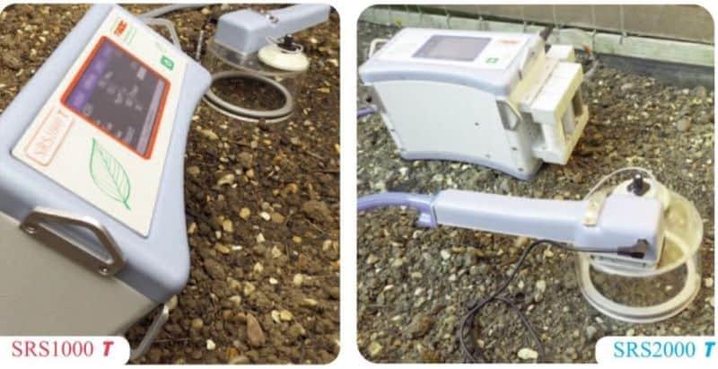 sistema para medir la respiracion del suelo