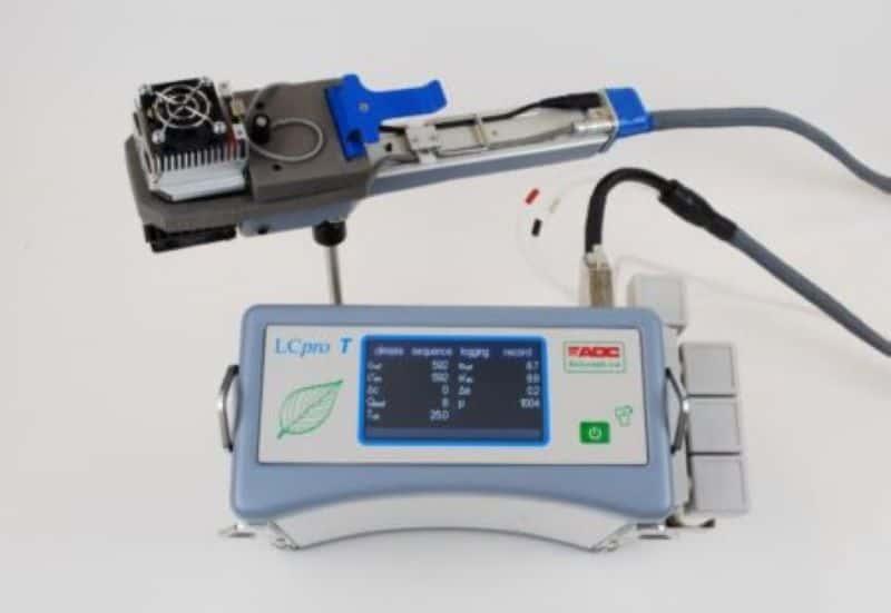 Analizador de Fotosíntesis Portátil IRGA LCPro T y LCi T