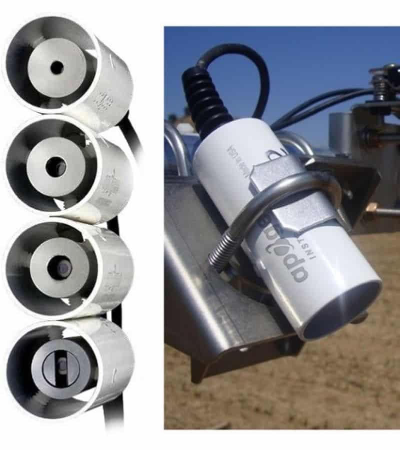 Termómetro de Infrarrojos precisión radiómetro SI